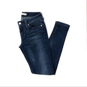 Levi's medium/dark wash jeans